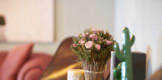 Blomster på bord